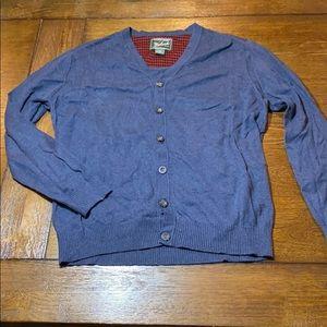 Woolrich button down cardigan sweater